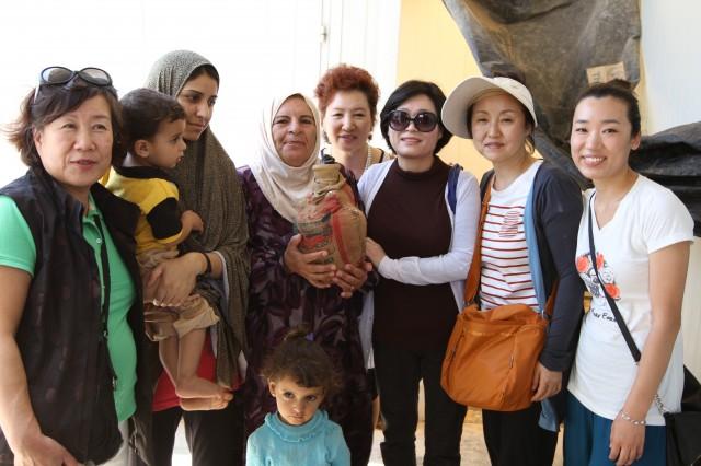 자타리 캠프 가정방문