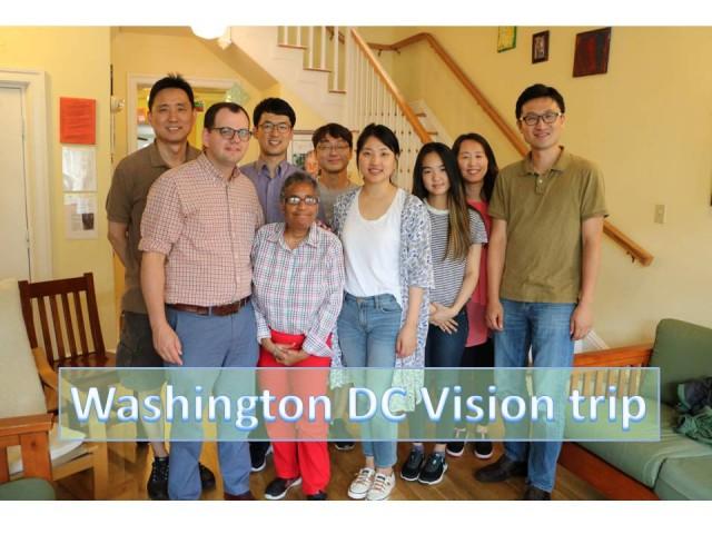Washington DC Vision trip
