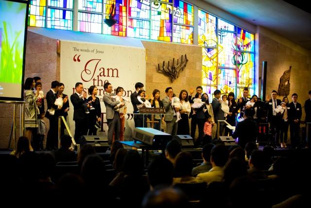 2016 부활주일 세례식